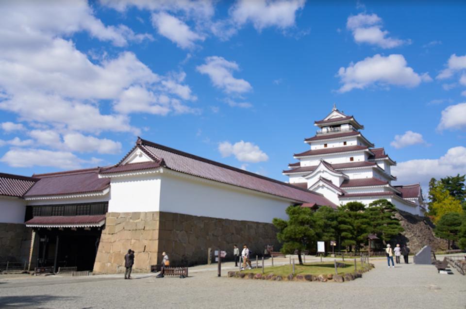 日本旅遊 日本東北 福島 岩手 會津若松 鶴城