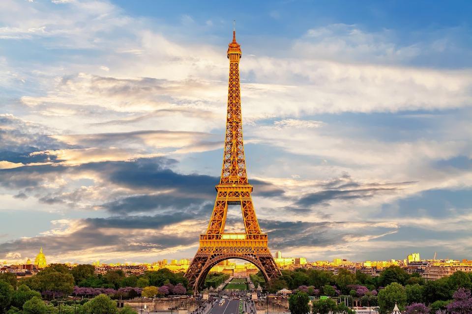 法國 艾非爾鐵塔 旅遊勝地 出國旅遊 法國景點