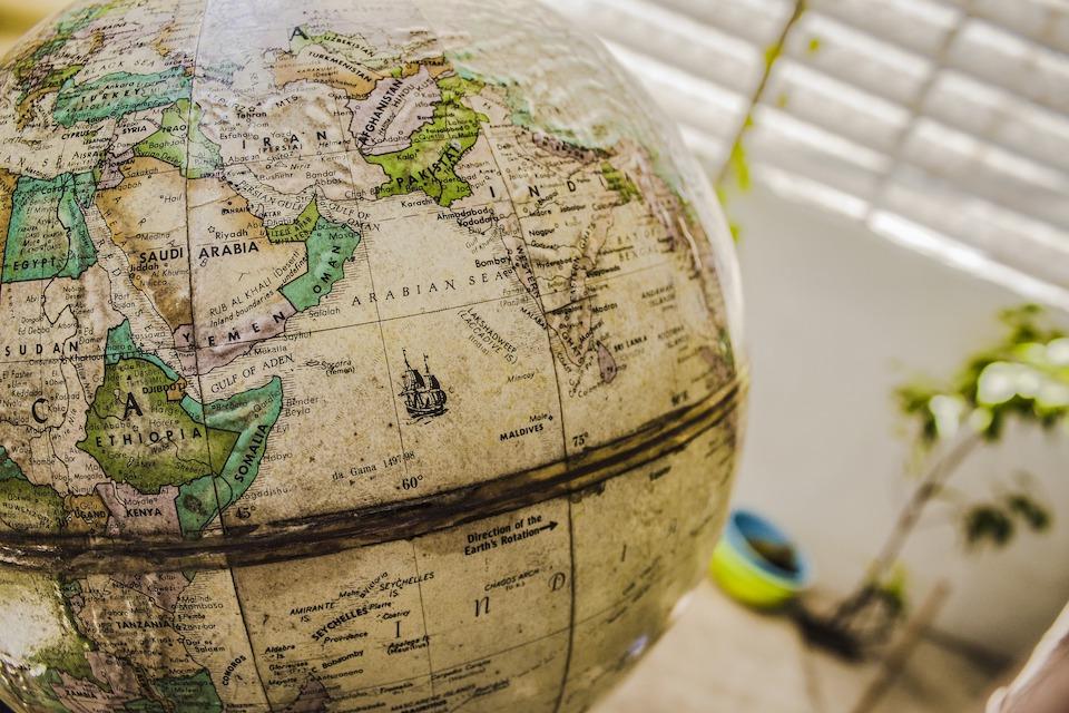 地球儀 地球 全世界 地圖